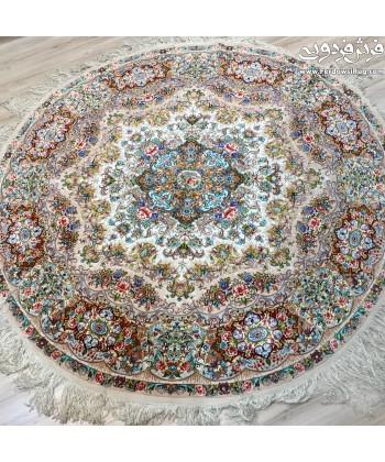 فرش دستباف دایره  ترقی 2*2تبریز دایره و مربع