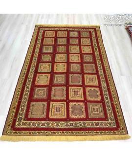 گلیم فرش دستباف  3 متری سیرجان گلیم فرش