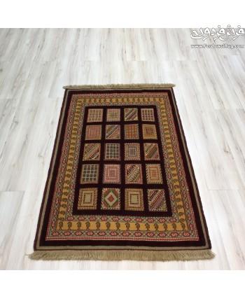 گلیم فرش دستباف ذرع چارک سیرجان گلیم فرش