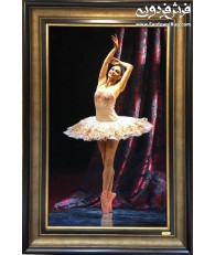 hand made tableau carpet  Ballet dance design tabriz,iran