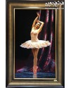 تابلو فرش دستباف رقص باله تبریز